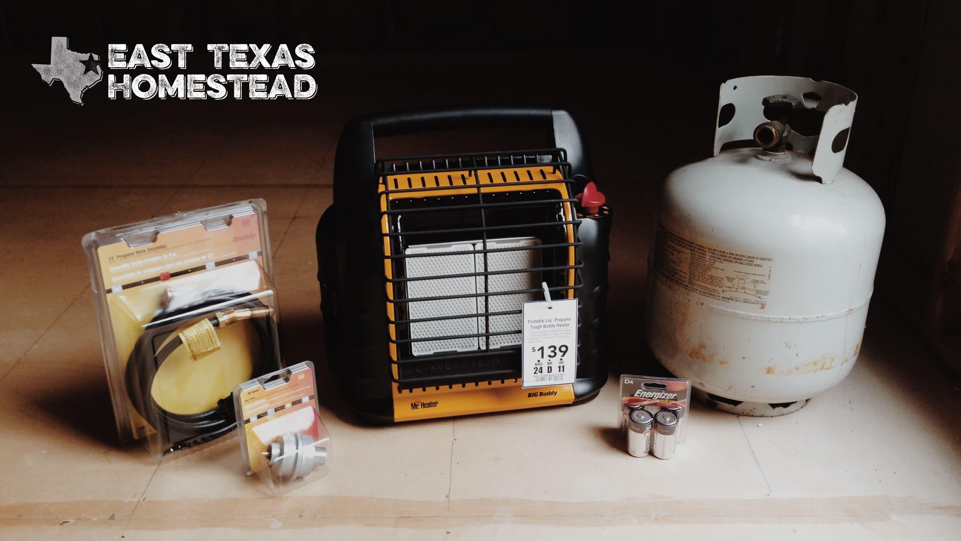 Mr. Heater - Big Buddy with 20 pound propane tank