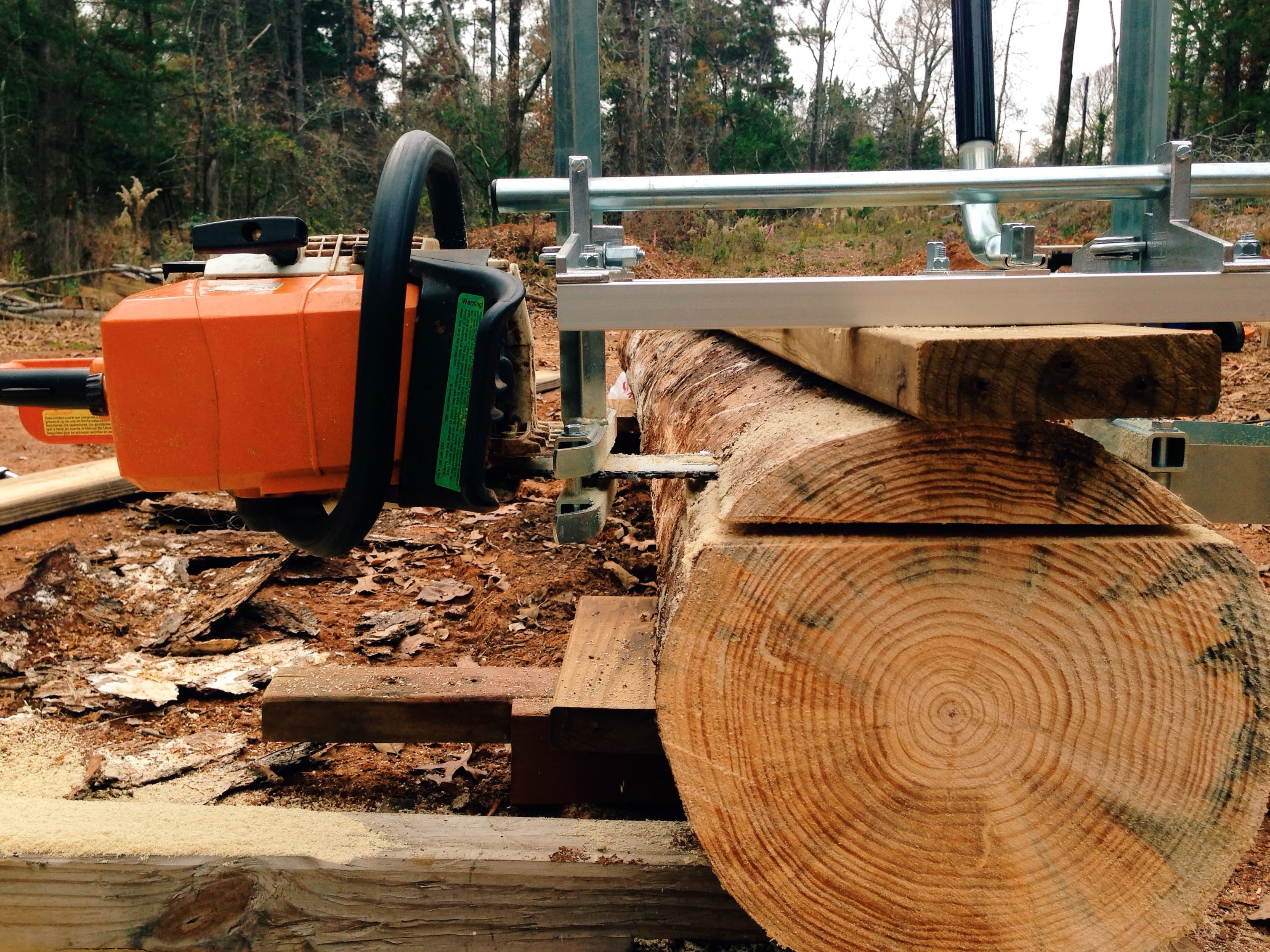 I Finally Used My Granberg Alaskan Chainsaw Mill 171 East