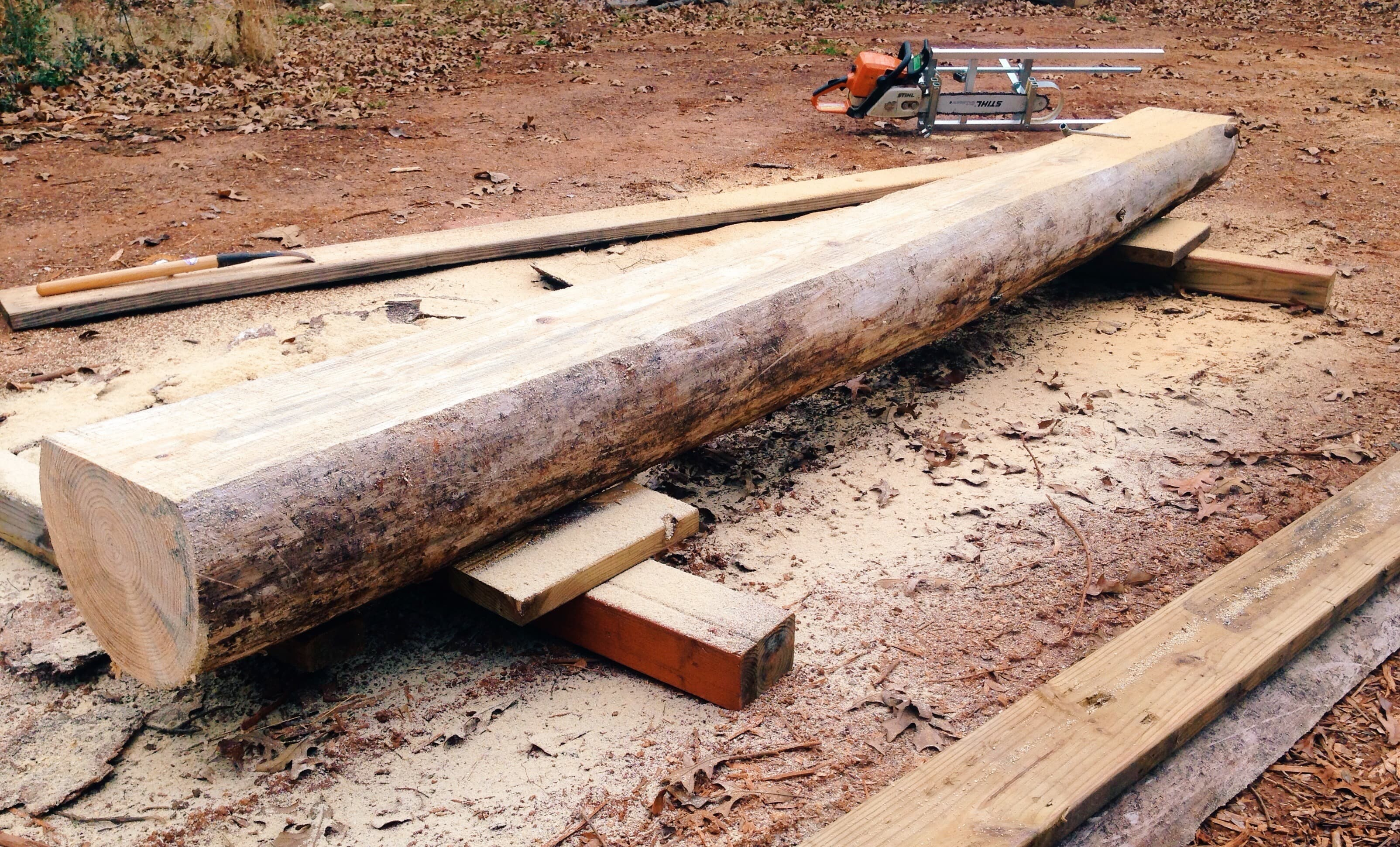 Granberg Alaskan Chainsaw Mill - East Texas Homestead